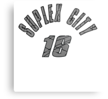 SUPLEX CITY 16 Metal Print