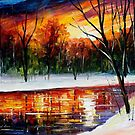 Winter Spirit — Buy Now Link - www.etsy.com/listing/209029223 by Leonid  Afremov