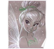 Toned Paper TinkerBell Poster