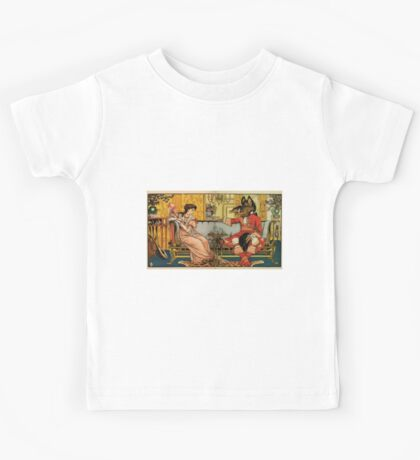 Beauty and the Beast by Walter Crane 1875 12 - At Tea Kids Tee