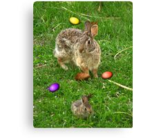 The Original Easter Bunnies Canvas Print