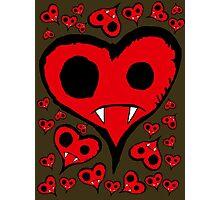 Heart Vampire Photographic Print