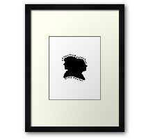 Consulting Detective and Army Doctor (Sherlock/John) Framed Print