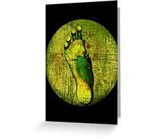 Zombie Foot Greeting Card