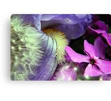 Macro Flower Combination Canvas Print