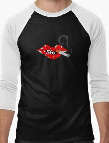 Do I Wanna Know? Lips Men's Baseball ¾ T-Shirt