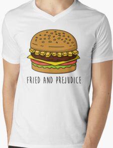 Fried and Prejudice Mens V-Neck T-Shirt