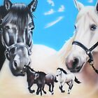 horses by Dale Keogh