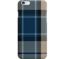 00476 Comrie Navy Blue Fashion Tartan  iPhone Case/Skin