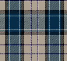 00476 Comrie Navy Blue Fashion Tartan  by Detnecs2013