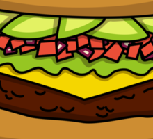 Avocadon't Worry, Be Happy Sticker