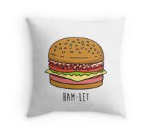 Ham-Let Throw Pillow