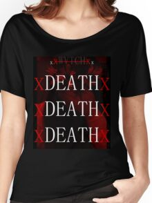 WVTCH - DEATH x DEATH x DEATH  Women's Relaxed Fit T-Shirt