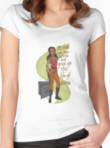 Zoe Washburne, Outlaw Extraordinaire Women's Fitted Scoop T-Shirt