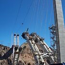 New Bridge being build over HOOVER DAMN by kodakcameragirl