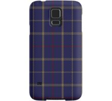 00470 Brooks Brothers Tattersall Blue Fashion Tartan  Samsung Galaxy Case/Skin