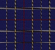 00470 Brooks Brothers Tattersall Blue Fashion Tartan  by Detnecs2013