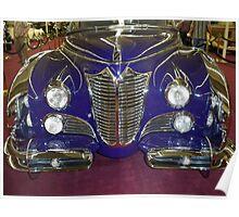 1948 Purple Cadillac Poster