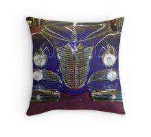 1948 Purple Cadillac Throw Pillow