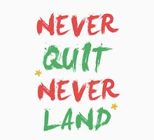 """Never Quit, Never Land""  Women's Tank Top"