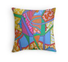 IT'S A JUNGLE IN HERE Throw Pillow