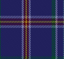 00464 Blue Ridge Highlands Heritage District Tartan  Sticker