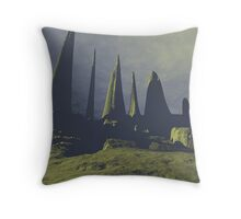 Cathedral of Time Throw Pillow