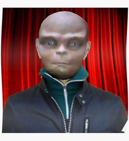 Alien Scientist Poster