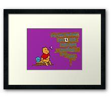 WinnieThePooh Framed Print