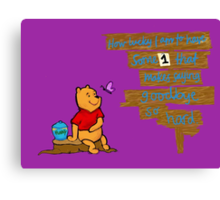 WinnieThePooh Canvas Print