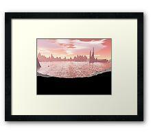 Dagger Lake Framed Print