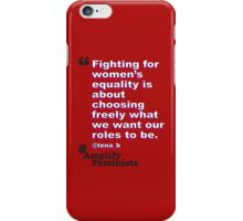 Our Roles iPhone Case/Skin
