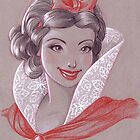 Toned Paper Snow White by CherryGarcia