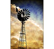 Windmill Photographic Print