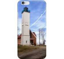 The Light at Presque Isle iPhone Case/Skin
