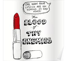 The Blood Of My Enemies  Poster