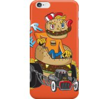 It's Burger Time! iPhone Case/Skin