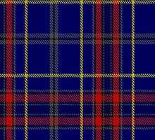 00458 Blue Bough from Orkney Tartan  by Detnecs2013
