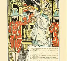 Cinderella Picture Book containing Cinderella, Puss in Boots, and Valentine and Orson Illustrated by Walter Crane 1911 14 - The Carriage by wetdryvac