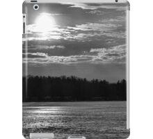 Monochromatic Winter Sunset  iPad Case/Skin