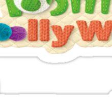 Yoshi's Woolly World Sticker