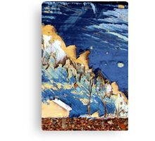 blue mountian Canvas Print