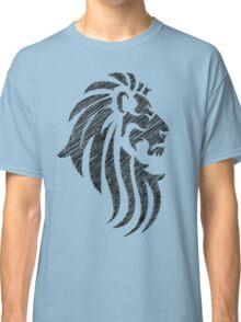 Lion Tribal Tattoo Style Distressed Design  Classic T-Shirt