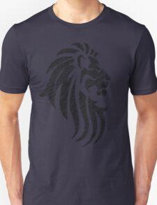 Lion Tribal Tattoo Style Distressed Design  Unisex T-Shirt