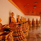Thai Temple by Paul Moore