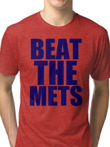 New York Yankees - BEAT THE METS Tri-blend T-Shirt