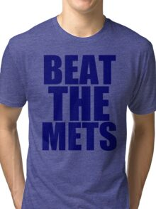 New York Yankees - BEAT THE METS Tri-blend T-Shirt