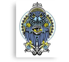 BLUE OWL Canvas Print