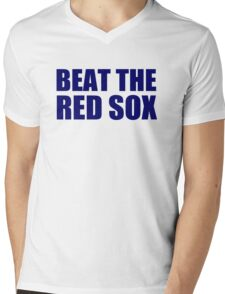 New York Yankees - BEAT THE RED SOX Mens V-Neck T-Shirt