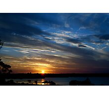 Goodnight Friday ~ Geelong Waterfront Photographic Print